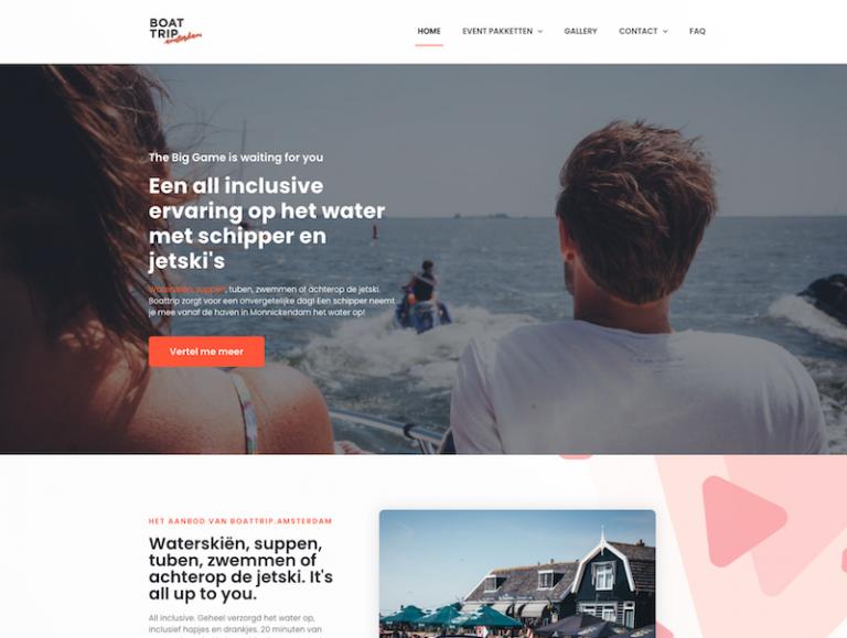 Boattrip.amsterdam - Exclusieve watersport events
